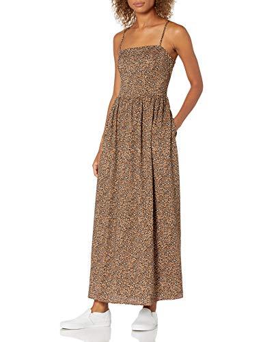 Goodthreads Georgette-Vestido Largo con Espalda Abierta Dresses, Animal Print, US XL (EU 2XL)