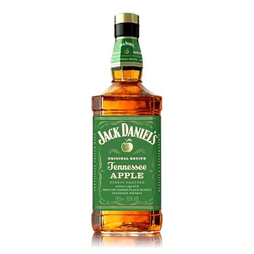 Jack Daniel's Tennessee Apple – Il tradizionale Tennessee Whiskey con piacevoli sentori di mela verde. Gusto fruttato e rinfrescante. Vol 35% - 70cl