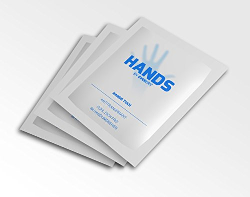everdry Antitranspirant Hands Tücher, 1er Pack (1 x 10 Stück)