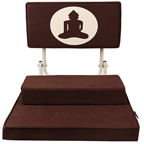 Friends of Meditation ® Vipassana Meditation Chair (Brown)
