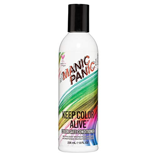 Price comparison product image Manic Panic Keep Color Alive Conditioner for Color Treated Hair - Sulfate & Paraben Free - Vegan & Cruelty Free Moisturizing & Volumizing Conditioner - Quinoa & Shea Butter Repairs Damaged Hair (8oz)
