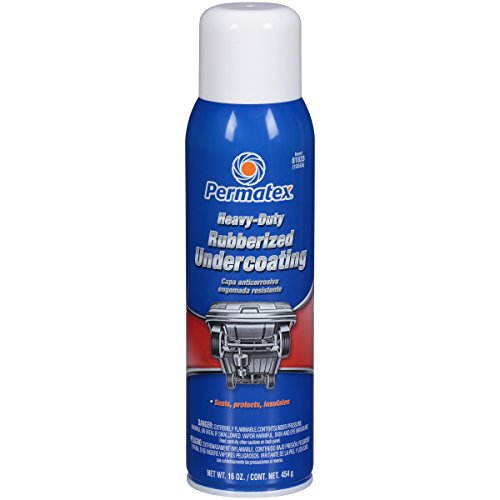 Permatex 81833 Heavy Duty Rubberized Undercoating, 16 oz. net Aerosol Can
