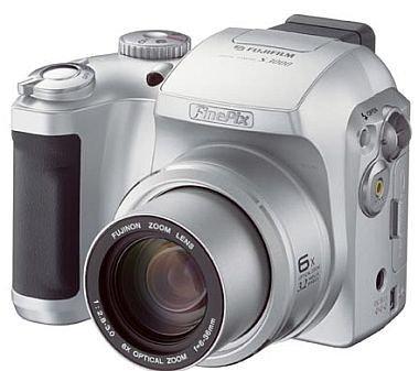 Fujifilm Finepix S 3000 3,1 Megapixel Digitalkamera