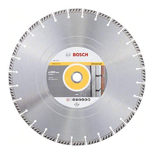 Bosch Professional Diamanttrennscheibe Standard for Universal (Beton und Mauerwerk, 400 x 25,40 mm, Zubehör Benzinsäge)
