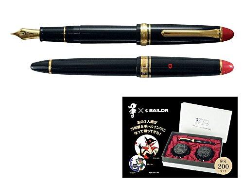 SAILOR/セーラー万年筆 限定品 タツノコプロ 55th ドロンジョ万年筆セット