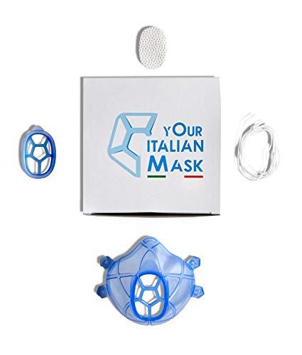 Mask mascherina in gomma sterilizzabile