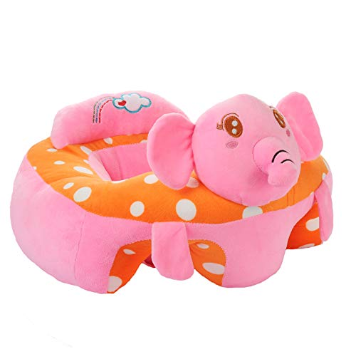 Baby Sofa Infant Support Seat Learning Sitting Chairs for Babies Bouncer Soft Elephant Plush Floor Seats Suitable for Play Infants Tummy Time Pre-Kindergarten