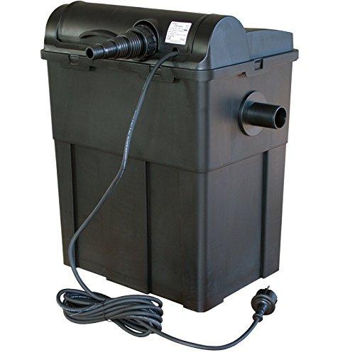 Jebao ubf9000 Teichfilter mit UV Einheit 11W UV UVC für Teiche bis 9000L Filter Koiteich Filtersystem