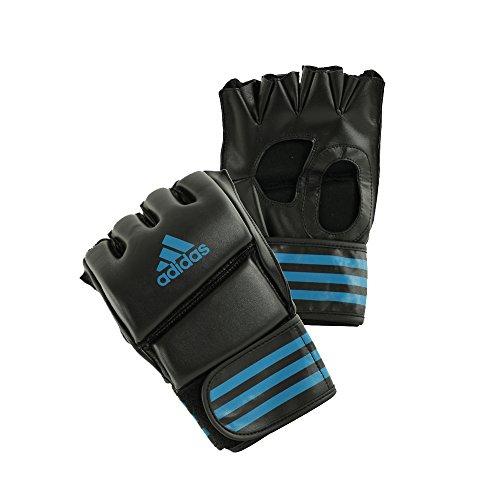 adidas Herren MMA-Handschuhe Grappling Training Glove, Schwarz/Blau, L
