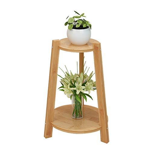 Étagère Xuan - Worth Having Bambou Cadre De Fleur Salon Radis Vert Balcon Étage Type Intérieur Multi-Couche Pot De Fleur Plante Succulente en Bois Massif (Taille : 30 * 47cm)