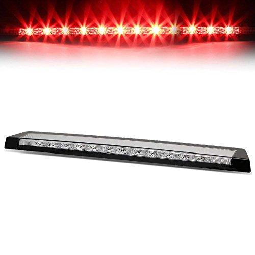 LED Chrome Housing Trunk Center High Mount 3rd Third Tail Brake Light Stop Lamp...