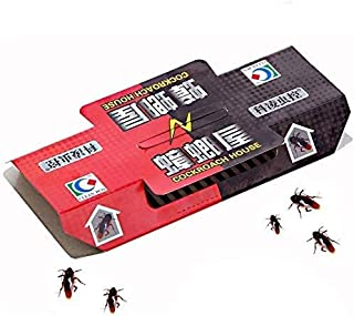 10Pcs House Sticky Board Repellent Killing Bait Strong Sticky Cockroach Trap Insect Pest Catcher Non-Toxic Eco-Friendly Ro...