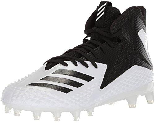 adidas Freak X Carbon Mid American Football Rasen Schuhe - weiß/schwarz Gr. 13 US
