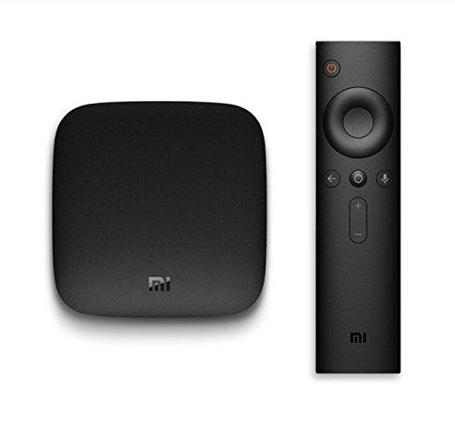 Xiaomi Mi Box 3S Version Internacional TV Box Android TV 6.0 4K 2GB RAM 8GB ROM Quad Core Wifi Dual Band Bluetooth 4.1 HDMI Sonido Surround DTS Dolby Full HD Streaming Reproductor Multimedia