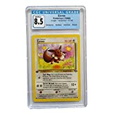 CGC 8.5 Pokemon Eevee 51/64 Non Holo Jungle - 1st Edition + Extra Protection Near Mint (Toploader) 1999