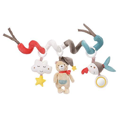 Fehn d'activités Bruno – Spirale en Tissu à saisir et Toucher – pour bébés et Tout-Petits à partir de 0 Mois, 060218, 30 cm