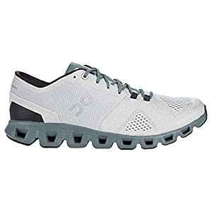 ON Running Mens Cloud X Synthetic Textile Glacier Olive Trainers 11 US