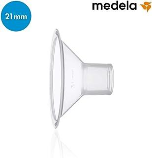 美德乐 medela 【日本正规品】 个性化贴合的奶嘴2个套装 适合乳头大小的需求的5个大小的吸奶口 [対象] 0ヶ月 ~ 多色 S
