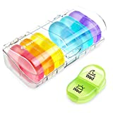 AUVON iMedassist Portable Daily Pill Organizer (Twice-A-Day),...