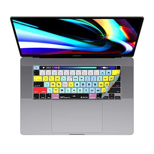 Fundas de teclado Adobe Premiere para MacBook Pro de 13