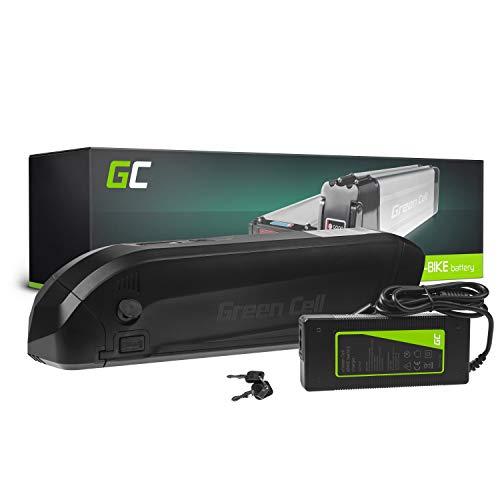 Green Cell® E-Bike Akku 36V 12A Fahrradakku Li-Ion Rahmenakku Pedelec Down Tube Batterie mit Ladegerät