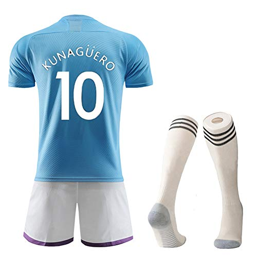Camisetas de fútbol para Niños Niños Niñas Hombres Adultos, Silva 21, Kun