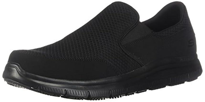 Skechers for Work Men's Flex Advantage Slip Resistant Mcallen Slip On