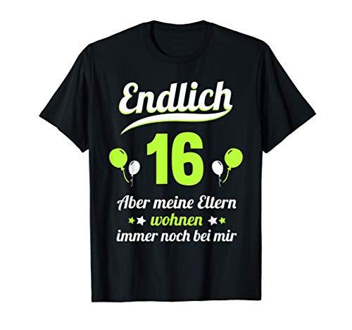 16. Geburtstag 16 Jahre Junge Mädchen Jahrgang 2005 Geschenk T-Shirt