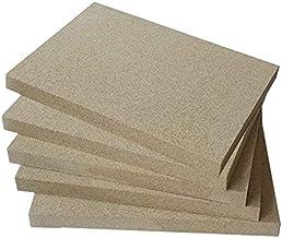 Vermiculiet platen 400x600mm 25mm dik 5 platen vuurruimte bekleding vuurvaste oven