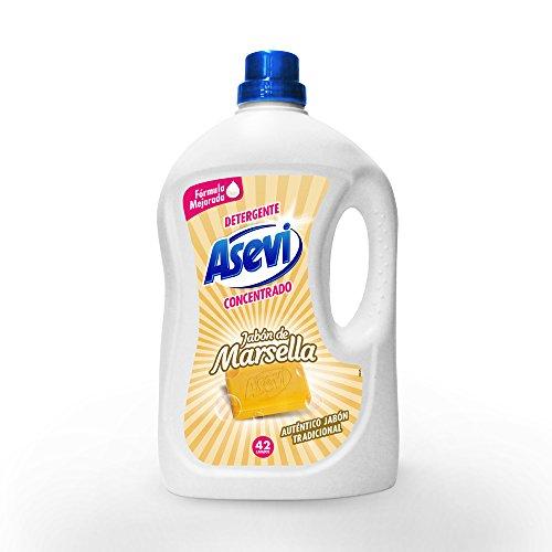 Asevi wasmiddel Marseille zeep 42 blikjes