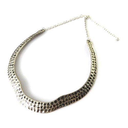 Les Trésors De Lily N7208 - Schöpfer collier 'Cléopatra' alte silber.