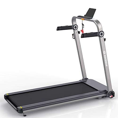 ADVENOR Treadmill Motorized Treadmills 3.0 HP Electric Running Machine Installation-Free...