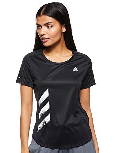 adidas - Fitness-T-Shirts für Damen in Black, Größe S