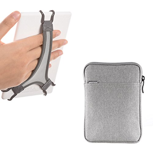 WANPOOL Hand Strap Holder for Kindle/Paperwhite/Voyage/Oasis 6 Inch, Plus Protective Felt Cover Pouch Bag