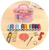 Auoeer 1 Set Multifunción Caja de Costura Costura Conjuntos necesarios Caja de Coser Herramientas Kit de Costura para máquinas de Coser domésticas
