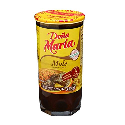 Dona Maria Mole Mexican Sauce 8.25oz Imported from Mexico (Mole Original, 2 Pack)