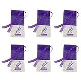 BESTONZON Lavendel Beutel Leere Duft Lavendelsäckchen Kordelzugbeutel Sack Duftsäckchen 6