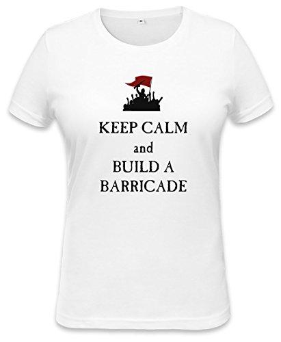 Keep Calm And Build A Barricade Womens T-shirt Small
