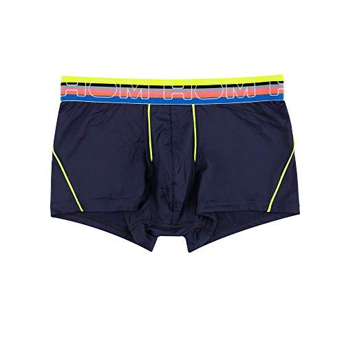 HOM, Homme, Boxer Court Ocean, Bleu Marine, M