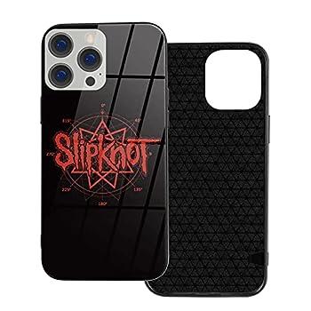 Slipk-not Logo The De-s Moin-ES iPhone 12 Case,Organic Glass+TPU Soft Edge Scratch Antiskid Proof Cover for iPhone 12/12 Pro/12mini/12Pro Max
