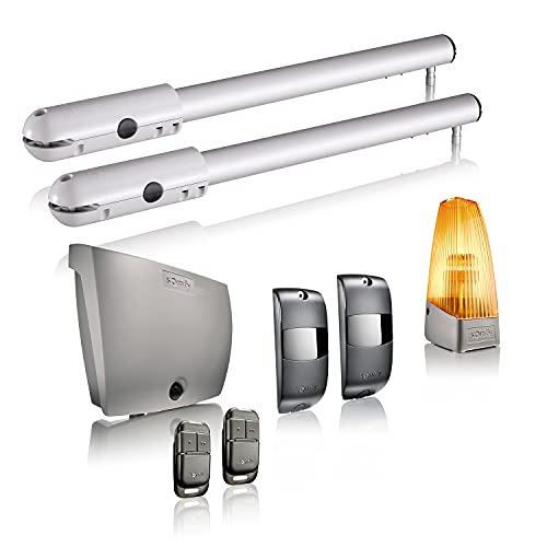 Steinel 053079 L Außenleuchte L 330 LED, 9 W Wandleuchte, 360° Bewegungsmelder, 7 m Reichweite, schlagfest, warmweiß, 230 V, Anthrazit