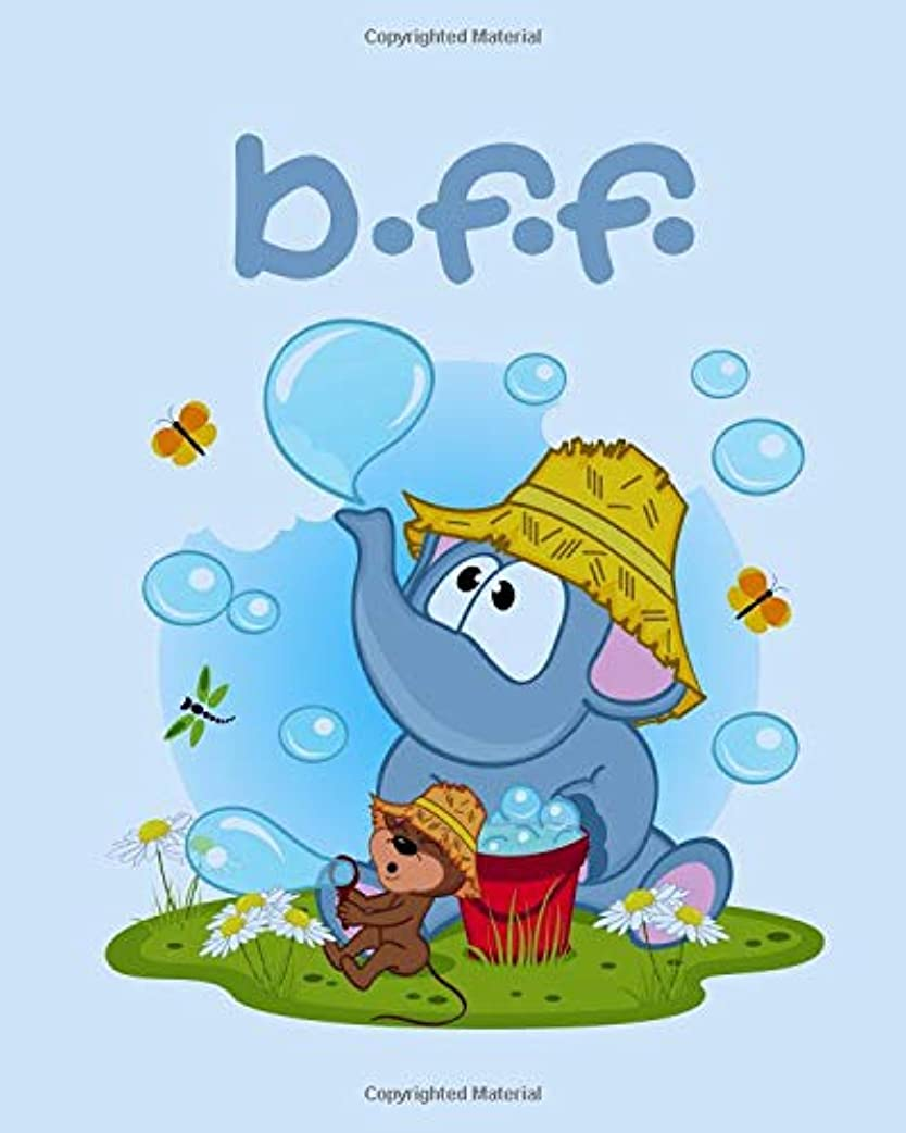 方法論修道院グリットBFF: Best Friends Forever 8X10 Inch 150 Page Journal For You And Your Best Friend