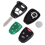 Pannow-BOL4-BOL6-BRD1-Mando-a-Distancia-para-Puerta-de-Garaje-de-303-MHz-BHT4Uncut-con-Mando-a-Distancia-para-Chrysler-Jeep