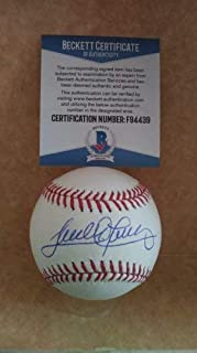 Sandy Alomar Jr Dodgers Indians Autographed Signed ML Baseball Beckett F94439