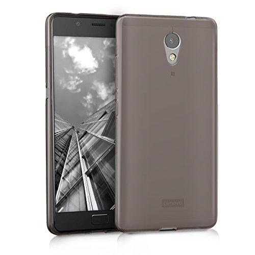 kwmobile Hülle kompatibel mit Lenovo P2 - Handyhülle - Handy Case in Schwarz Transparent