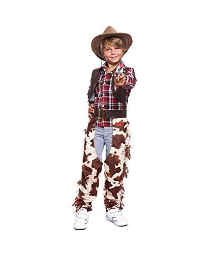 Partylandia Disfraz de Vaquero del Oeste para niño Carnaval Cosplay Cómodo Suave 10-12 Años