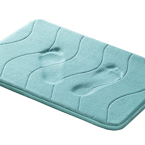 Memory Foam Bathroom Kid's Rug Mat, Slip-Resistant Extra Absorbent Bath Mat Set...