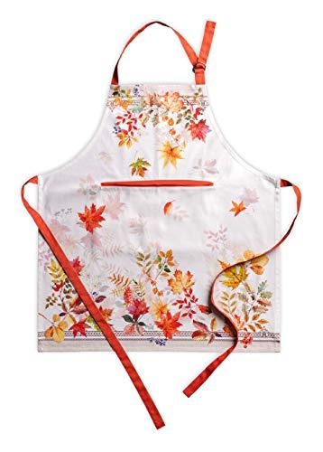 Maison d' Hermine Amarante 100% Cotton 1 Piece Kitchen Apron