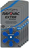 RAYOVAC hearing aid batteries 675 Extra Advanced 1,45V 640 mAh, 5X 6-pack
