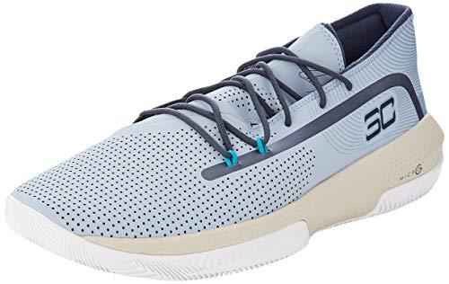Under Armour UA SC 3ZER0 III, Zapatos de Baloncesto Hombre, Azul (Harbour...